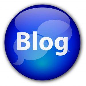 """Blog"" button"